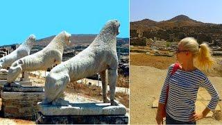 Экскурсия на остров Делос. Греция (Mila MyWay)(Экскурсия на остров Делос. Наша поездка с острова Миконос на остров Делос. Археологический комплекс Делоса...., 2014-09-26T05:30:01.000Z)