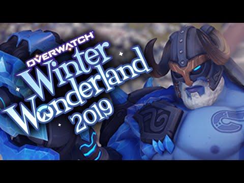 ALL WINTER WONDERLAND SKINS - Overwatch 2019