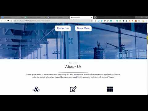 How To Build A Construction Company Website | Construction Website Design | Mobile-First Website-1