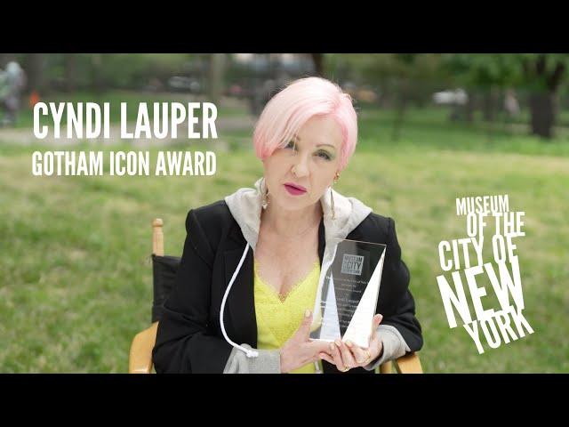 Cyndi Lauper - Gotham Icon Award - Museum of the City of New York