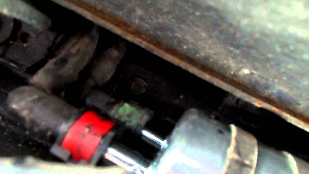 2003 Mazda Tribute Fuel Filter Location On