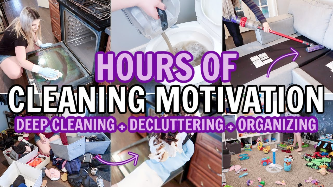 EXTREME DEEP CLEAN, DECLUTTER & ORGANIZE | CLEANING MOTIVATION MARATHON | 3 HOUR CLEAN WITH ME 2021