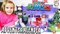 PJ MASKS ADVENTSKALENDER 2019 🌙 Pyjamahelden zu Weihnachten 🎄 24 TÜRCHEN ÖFFNEN | Dickie Toys