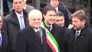 Mattarella a Firenze, viaggio in treno e tramvia - Nude News