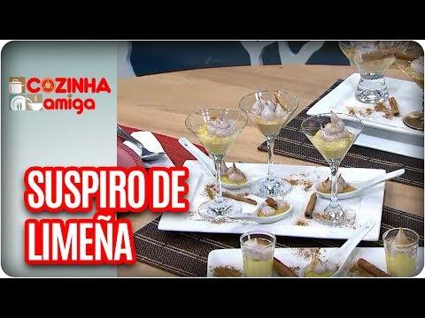 Suspiro De Limeña - Raquel Novais | Cozinha Amiga (08/01/18)