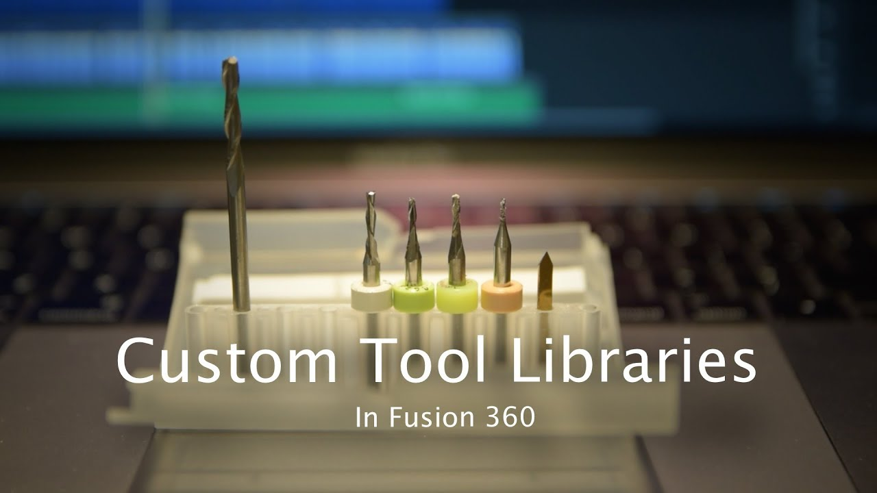 Carbide3D Tool Library for Fusion 360 - Winston Moy