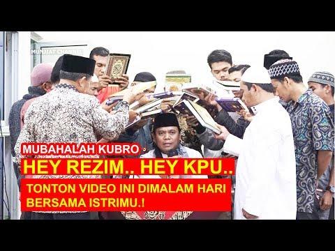 GUS NUR MUBAHALAH DENGAN 16 AL-QURAN UNTUK REZIM & KPU   FULL VIDEO