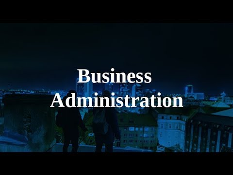 Info session for Business Administration BBA programme