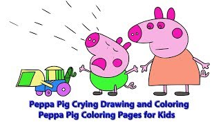 Peppa Pig Coloring Pages For Kids