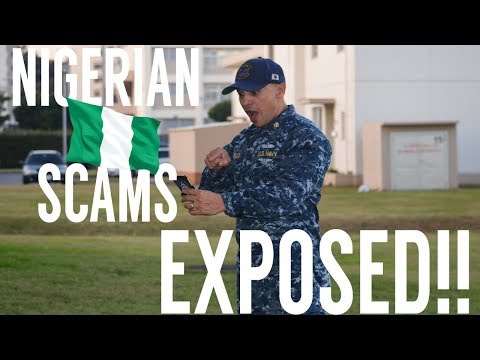 NIGERIA MILITARY SCAM- EXPOSED !!!!