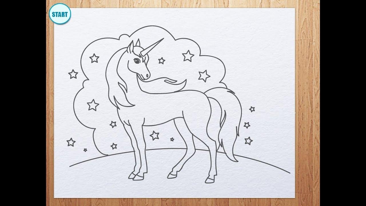 Uncategorized Draw A Unicorn how to draw unicorn youtube