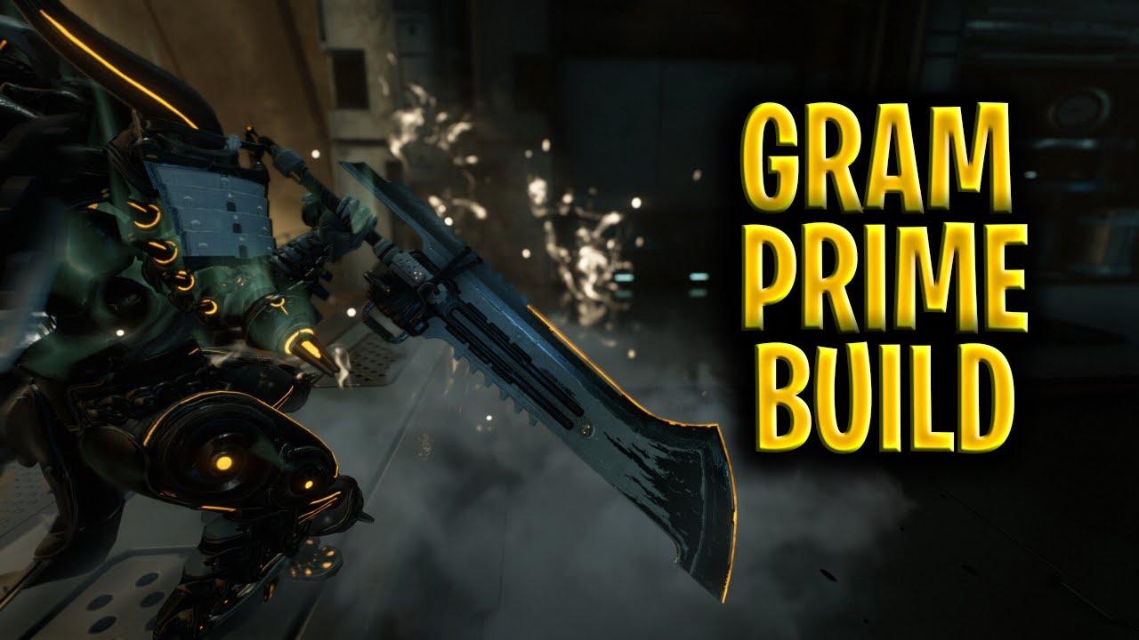 Warframe Gram Prime