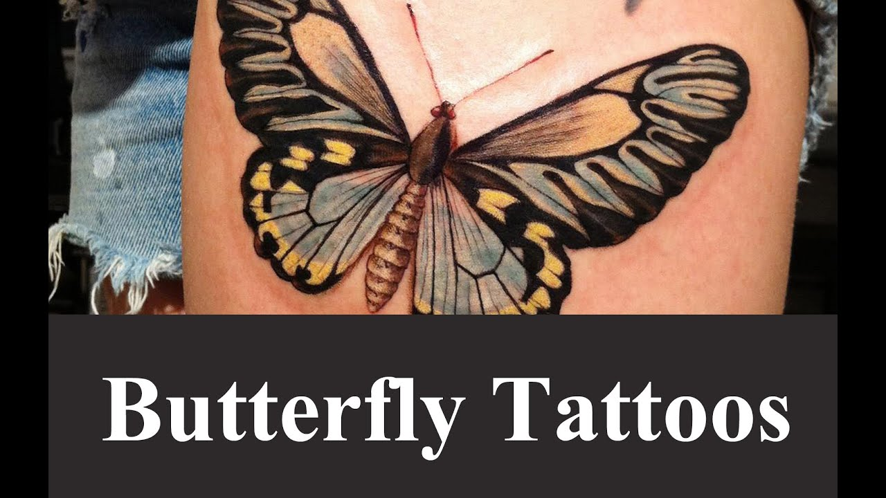 Best Butterfly Tattoo Designs And Ideas Youtube