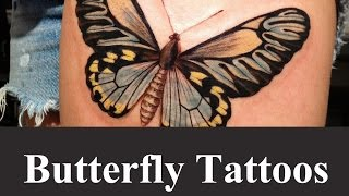 Best Butterfly Tattoo Designs And Ideas