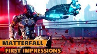 Matterfall Gameplay First Impressions | Matterfall PS4 Pro Gameplay