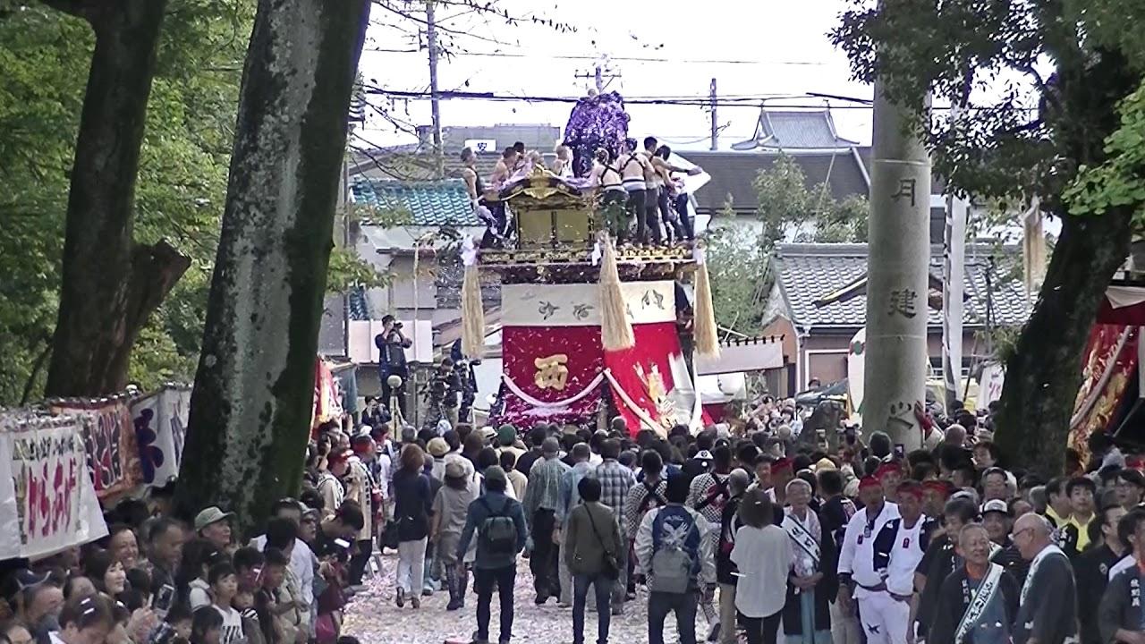 令和元年10月20日 愛知県豊田市 挙母祭 本楽曳き出し