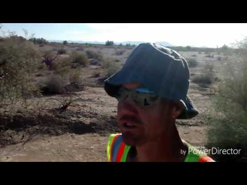 Bicycle touring the Southern Tier eastbound across Southwest USA - Gila Bend AZ -Vlog#7