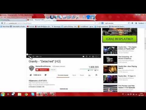 Kako pretvoriti you tube video u mp3
