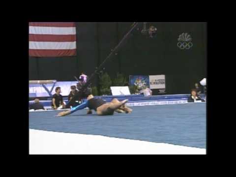 Courtney Kupets - Floor Exercise - 2004 U.S. Gymnastics Championships - Women - Day 2