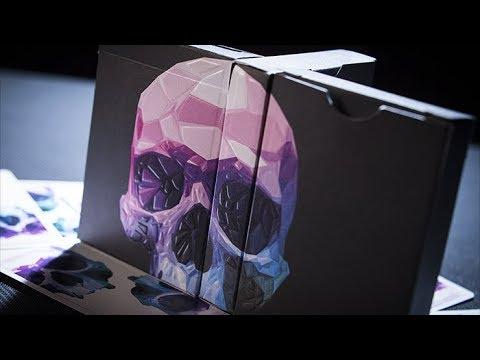 Memento Mori NXS Playing Cards - Magicland.se