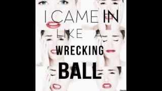 Miley Cyrus - Wrecking Ball (Audio)