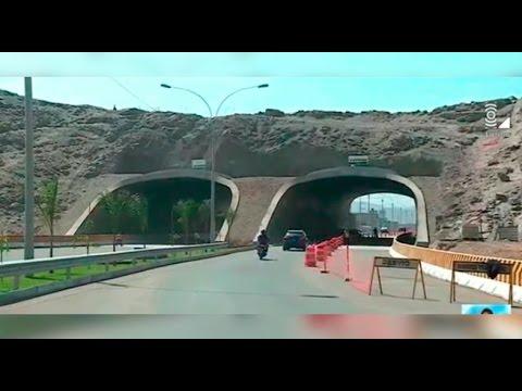 Ate: abren túnel de Puruchuco en dirección a la Carretera Central