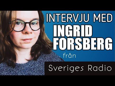 Radio på lätt svenska - Intervju med Ingrid Forsberg från Sveriges Radio - LIVE