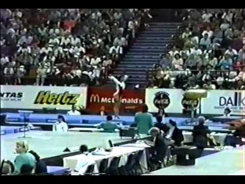 13th AA HUN Andrea Molnar V1  1994 Brisbane World Gymnastics Championships 9.662