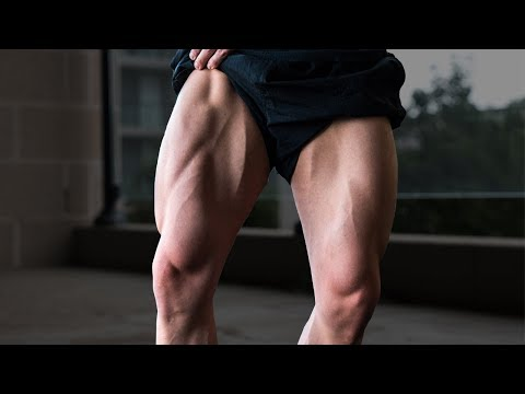 How to build leg muscle at home without weights