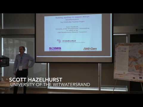 Scott Hazelhurst at Nextflow Hack 17