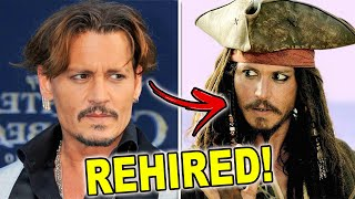 Johnny Depp REHIRED For Pirates Of The Caribbean Role After Disney Defends Him In Court!?