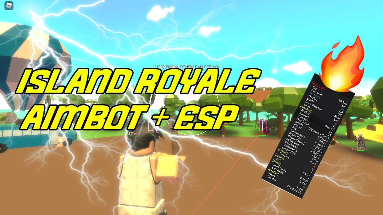 [VERY OP!] NEW ISLAND ROYALE AIMBOT + ESP! ROBLOX EXPLOIT 2020