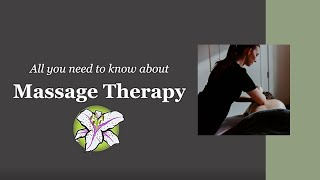 Massage Therapy - All You Need To Know