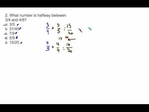 meet halfway calculator for fractions