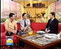 Gray O'Brien and Joseph Milson on GMTV