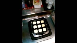 DIY 雞蛋糕  - 鑄鐵鬆餅烤盤