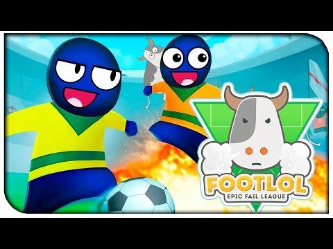 Бешенный футбол! - FootLOL: Epic Fail League  