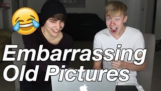 Reacting to OLD Embarrassing Pictures!