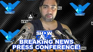 Diego Diamond Press Conference! (Saturday Night Showcase)