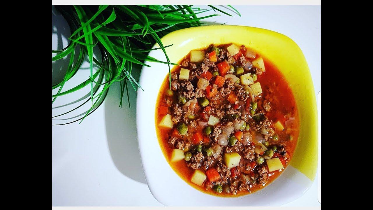 Bezelye Yemeği -Турецкая кухня - блюдо из зеленого горошка / ИЗМИР ТУРЦИЯ