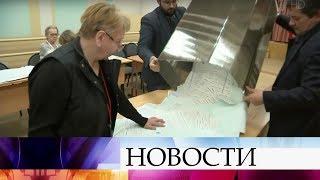 Практически на всех избирательных участках завершен подсчет голосов на выборах президента России.