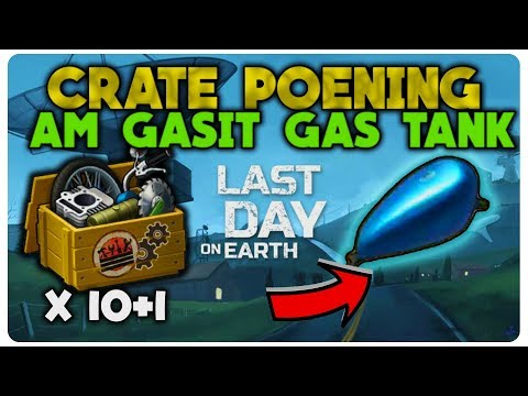 AM GASIT GAS TANK | CRATE OPENING | LAST DAY ON EARTH
