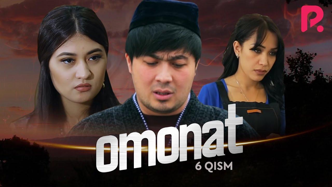 Omonat (o'zbek serial) | Омонат (узбек сериал) 6-qism #UydaQoling