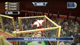 ZOMBIE WRESTLING!!! - Dead Rising 2: Off The Record Gameplay