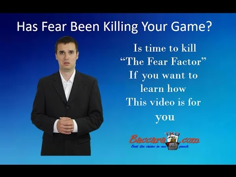 Has Fear Been Killing Your Game?