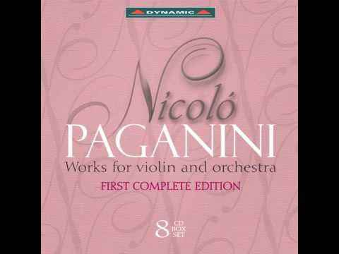 Paganini - Complete works for violin and orchestra 1-8