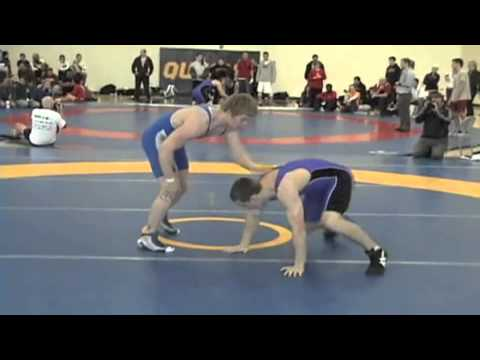 2010 Queens Open: 82 kg Ben Baxter vs. Matt Miller