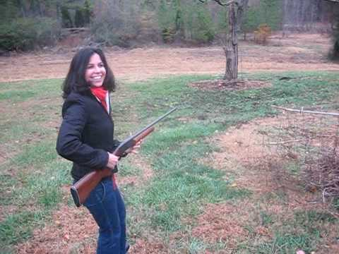 Hot Cuban Woman with Shotgun Invades Redneck Thanksgiving - YouTube