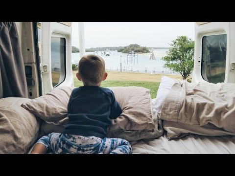 VAN LIFE: What We Do on Rain Days In our Tiny House
