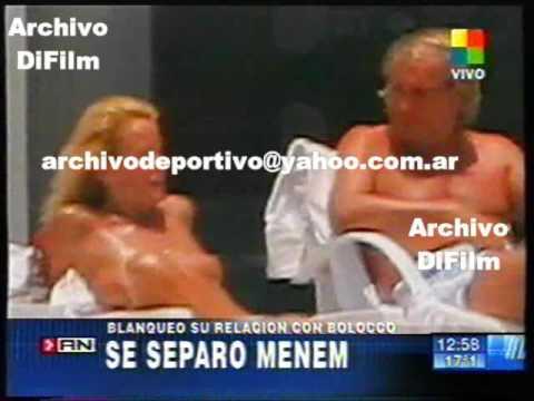 DiFilm - Se Separaron Carlos Menem Y Cecilia Bolocco 2007 V-04806